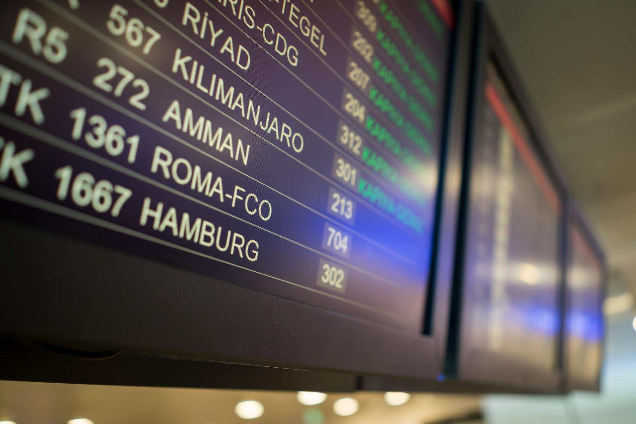 Un italian, reținut pe aeroportul din Roma. Ce a încercat să introducă în țară