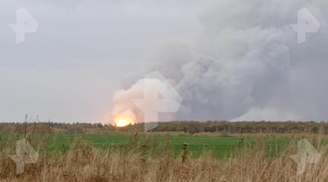 Incendiu de proporții într-un depozit de muniții din Rusia. Zeci de sate, evacuate. VIDEO