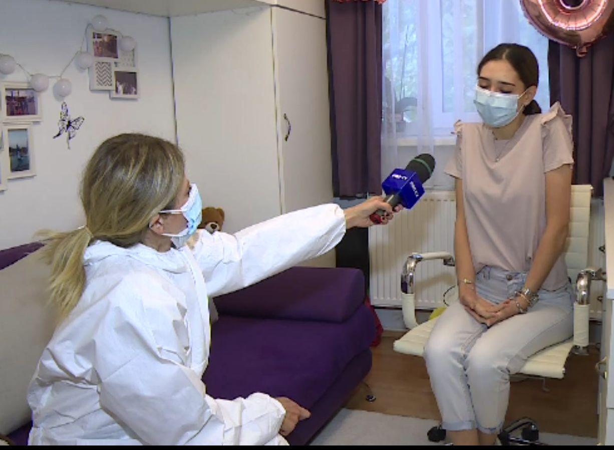 Mărturia primei eleve infectate cu Covid, în București, de la începerea școlii