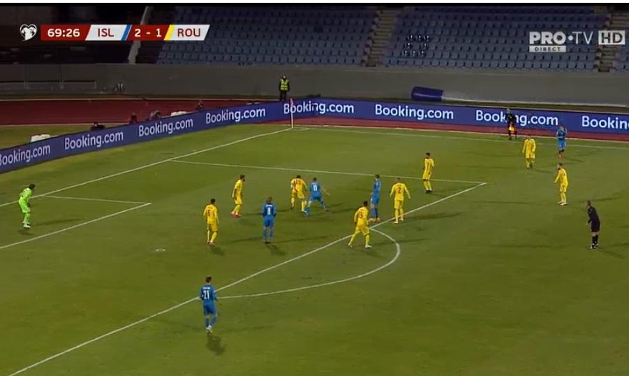România ratează Euro 2020. A fost învinsă cu 2-1 de Islanda în semifinalele play-off-ului