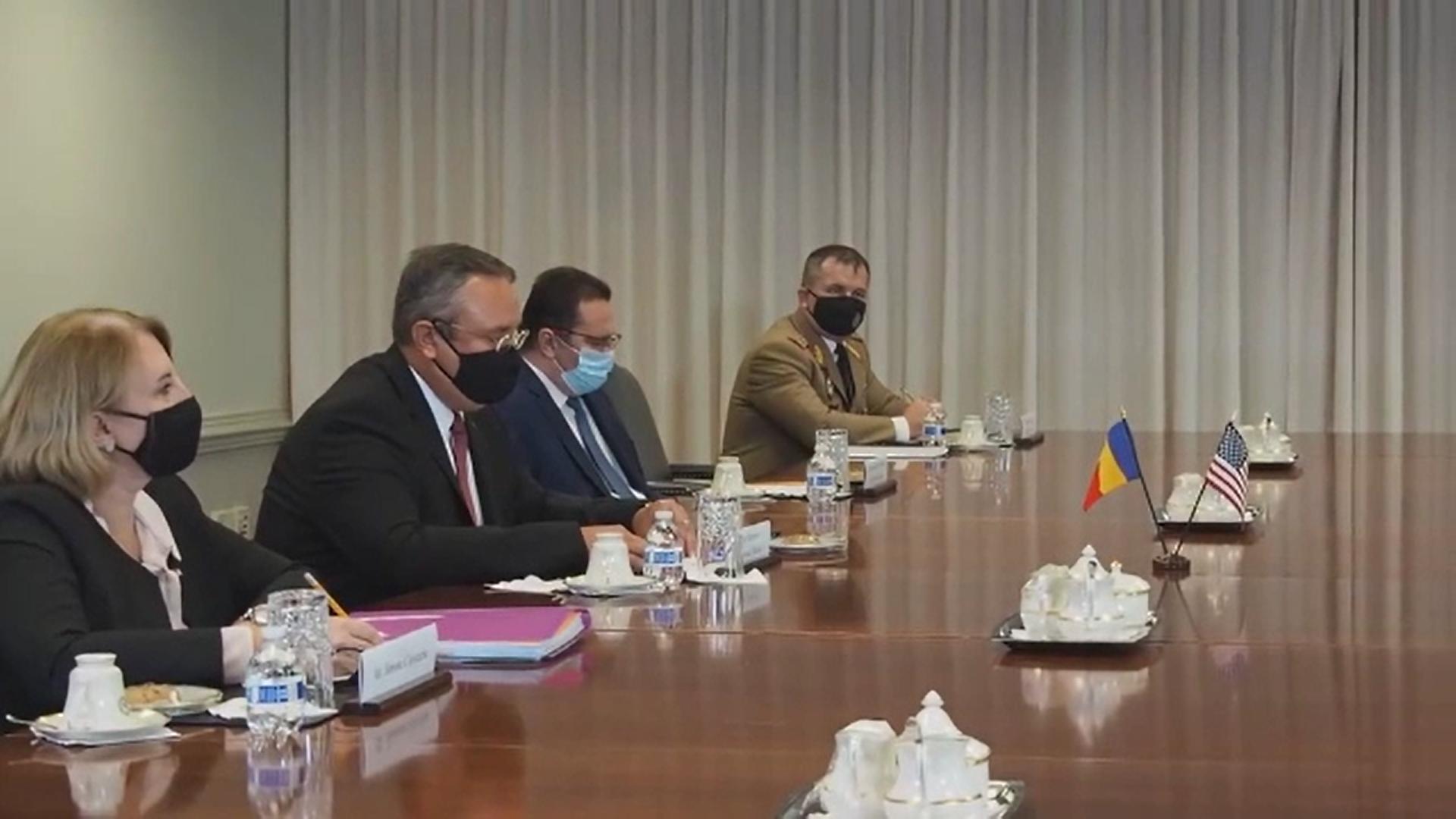 Acord între România și SUA privind securitatea Mării Negre şi întărirea securității cibernetice