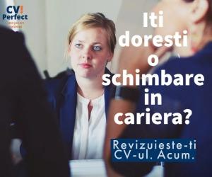 (P) De ce ai nevoie de un profesionist care să-ţi scrie CV-ul?