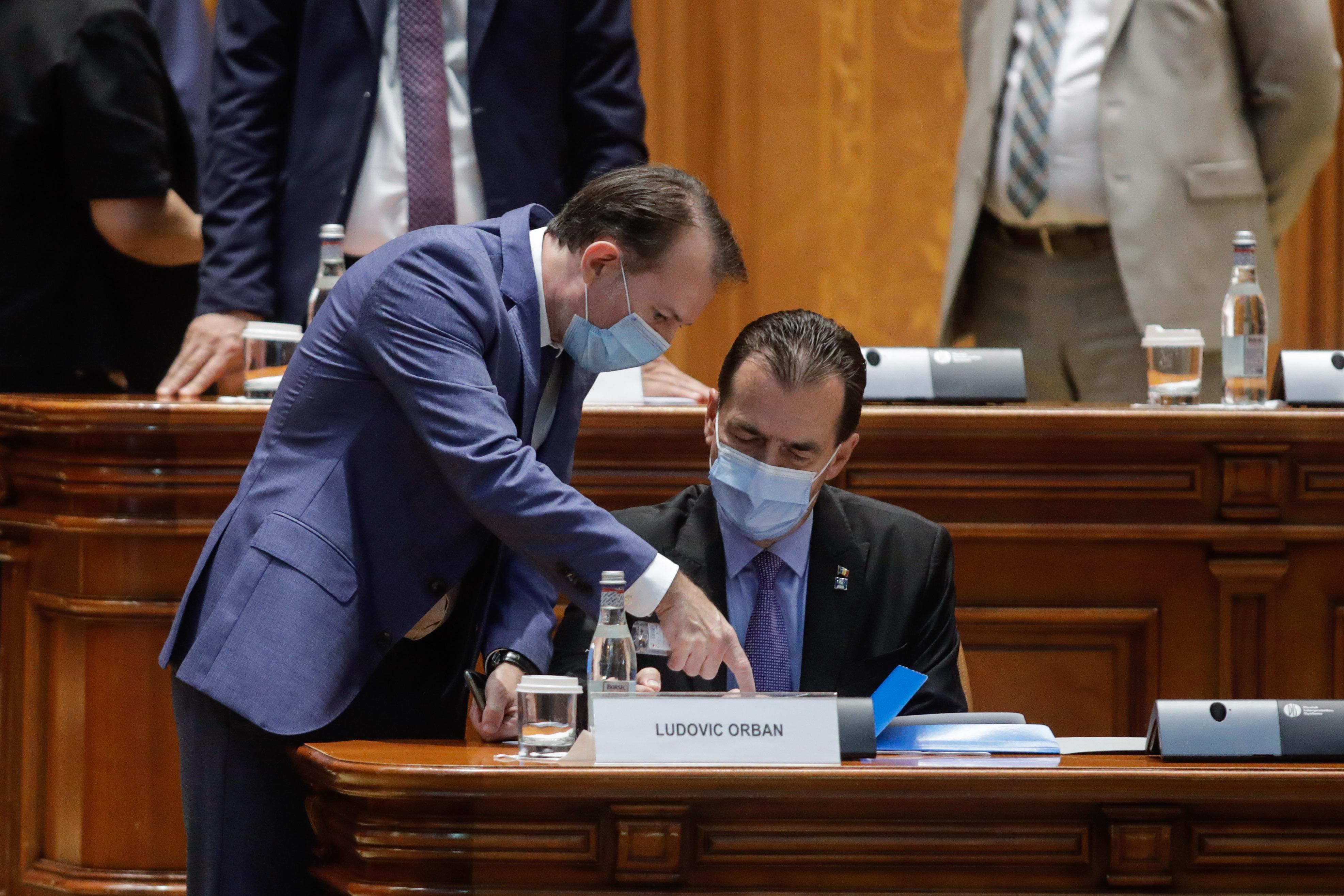 Ludovic Orban şi Florin Cîţu ar putea deschide lista PNL la alegerile parlamentare. Nume surpriză printre candidați
