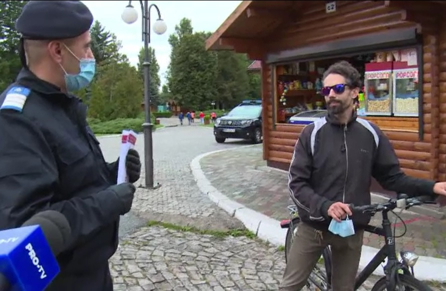 Amenzi pentru cei care nu respectă carantina în Târgoviște: