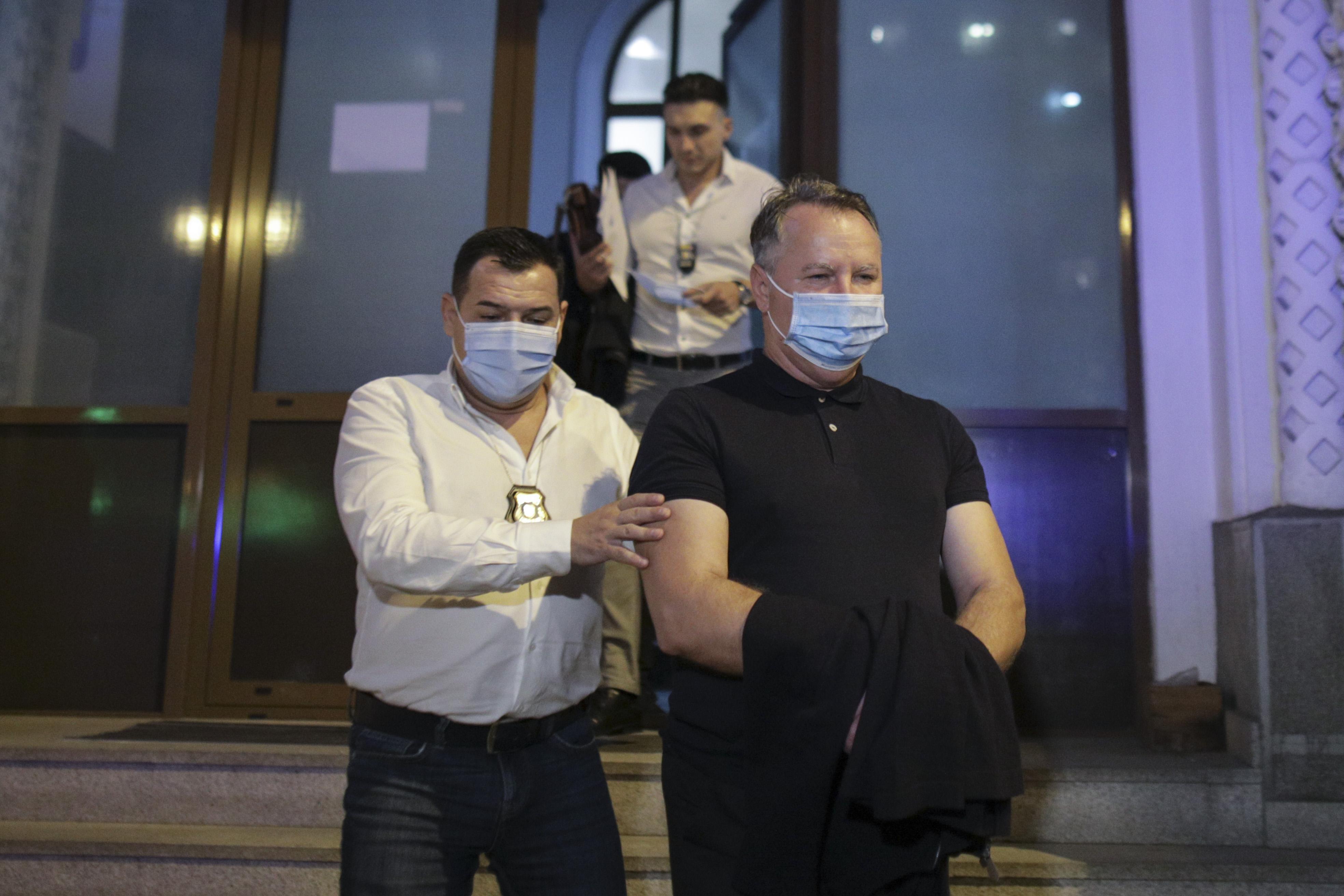 Laurenţiu Baranga, în arest la domiciliu. Instanţa a respins propunerea de arestare preventivă a fostului şef al ONPCSB