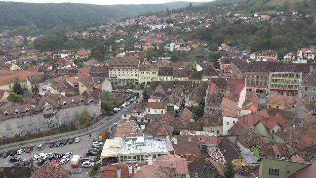 """Cetatea Sighișoara, o destinație de poveste. Cum se pregătește """"Perla Transilvaniei"""" pentru sărbătorile de iarnă"""