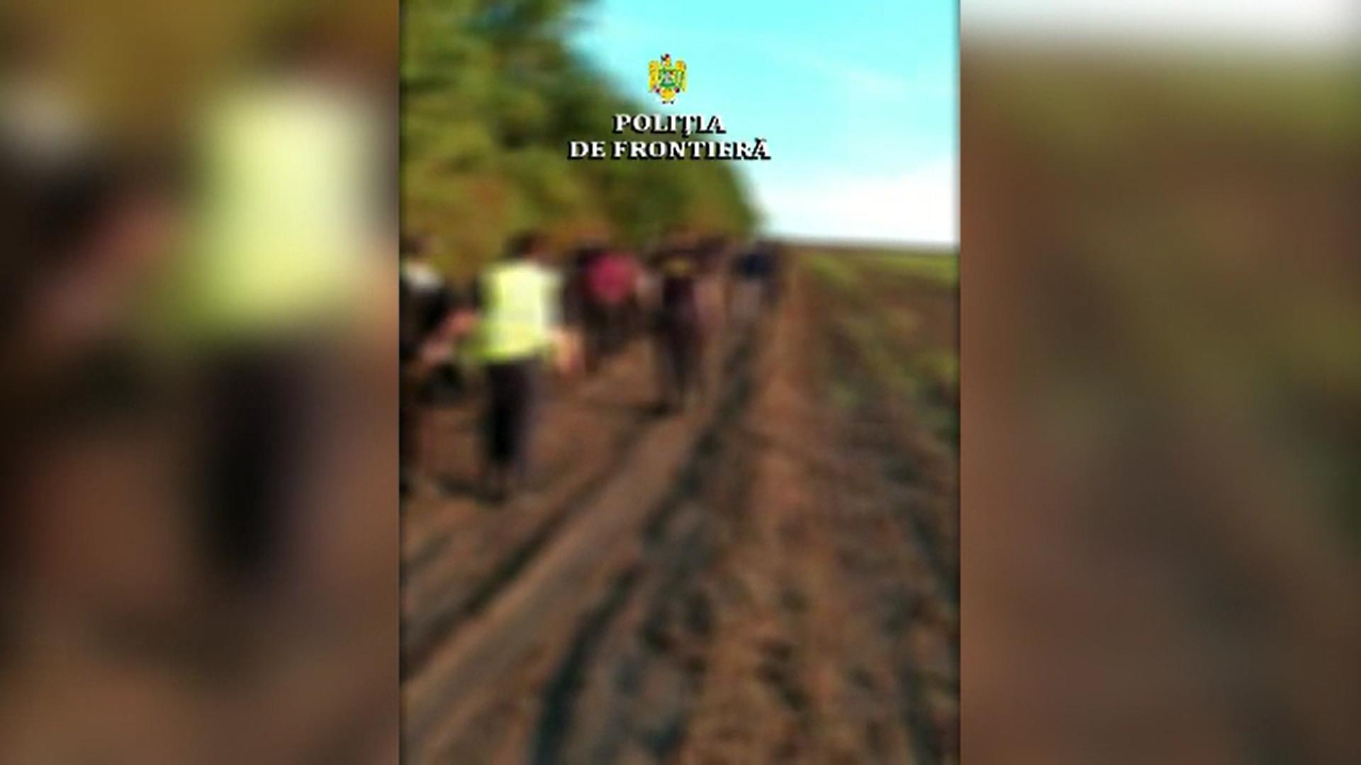 Polițiștii de frontieră au depistat 20 de irakieni care încercau să ajungă din Bulgaria în România