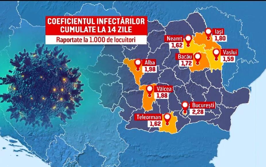 Capitala, în pragul carantinei. Se pregătesc noi restricții din cauza numărului mare de infectări