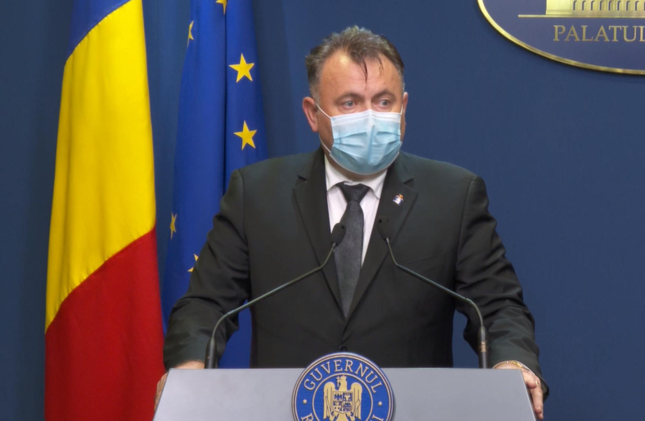 Ministrul Sănătății spune că școlile se redeschid doar dacă scade numărul infectărilor