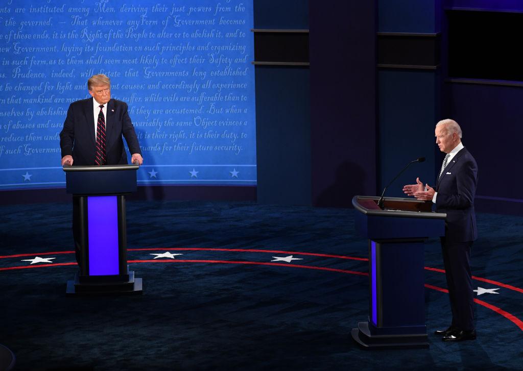 Duel televizat la distanţă între Trump şi Biden, în lipsa dezbaterii față în față