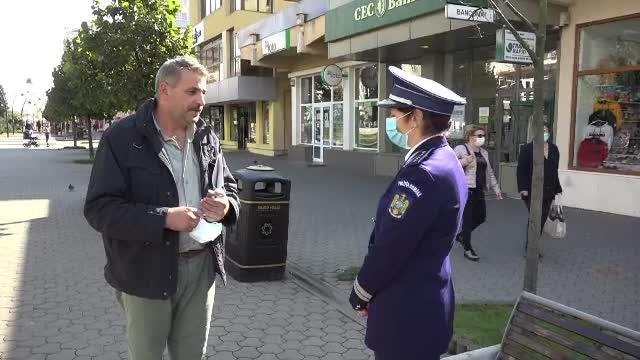 Masca de protecție este obligatorie în spații deschise în 13 localități din județul Alba