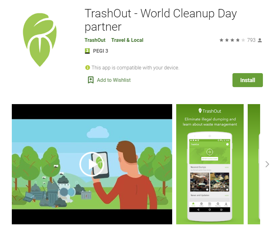 Ziua de Curățenie Națională continuă online, din cauza pandemiei. Ce face aplicația TrashOut