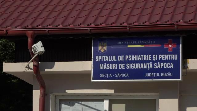 Situație dificilă la Spitalul de Psihiatrie Săpoca. 42 de pacienți periculoşi au fost infectați