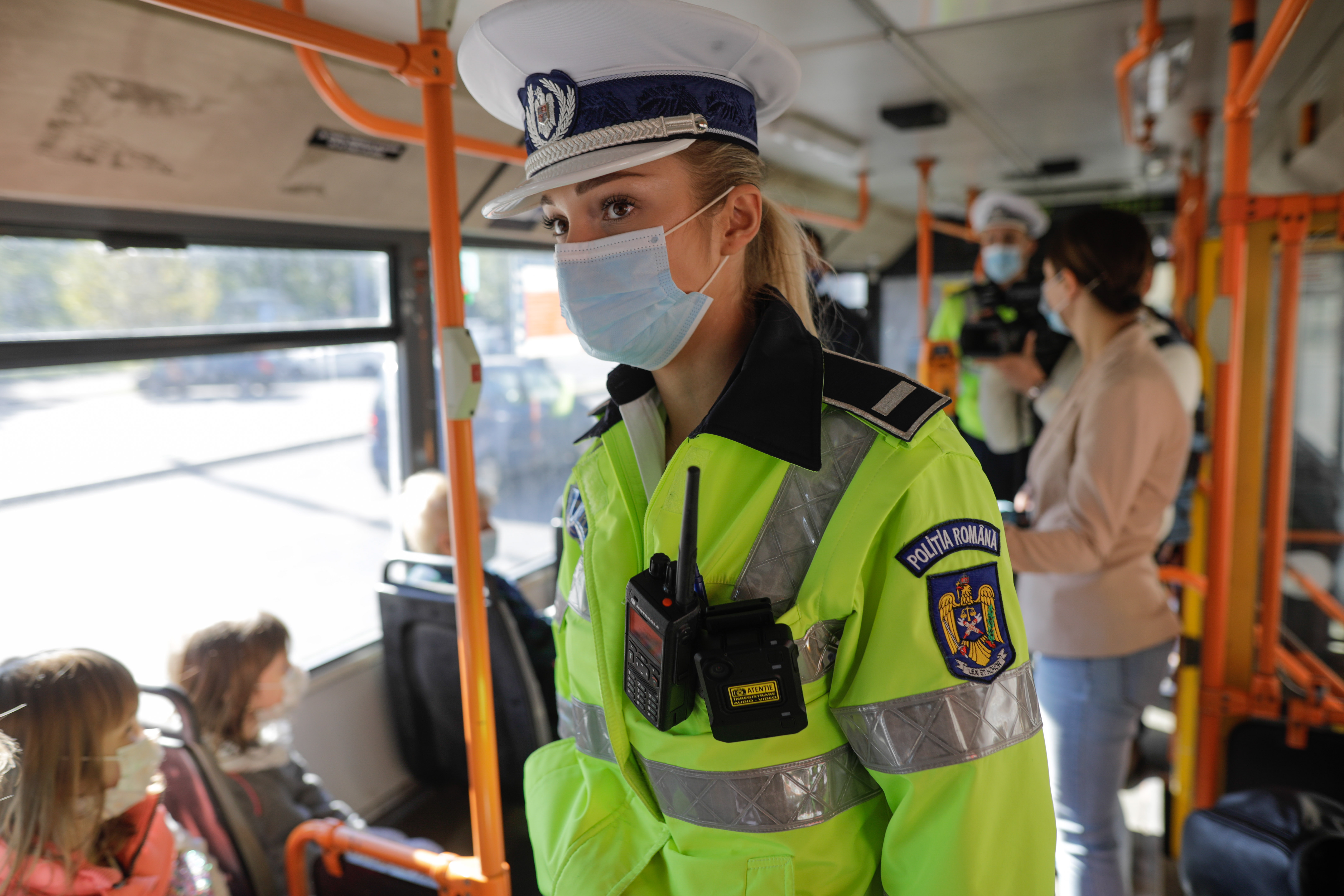 Controale în transportul în comun din Capitală