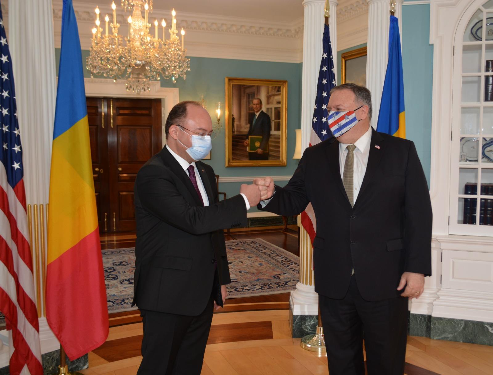 Bogdan Aurescu, în vizită la Washington: SUA își vor spori prezența militară în România