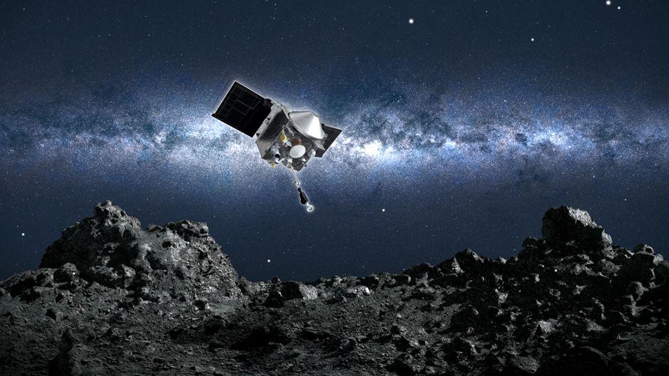 Premieră pentru NASA. Savanții au reușit să colecteze probe de pe suprafața unui asteroid