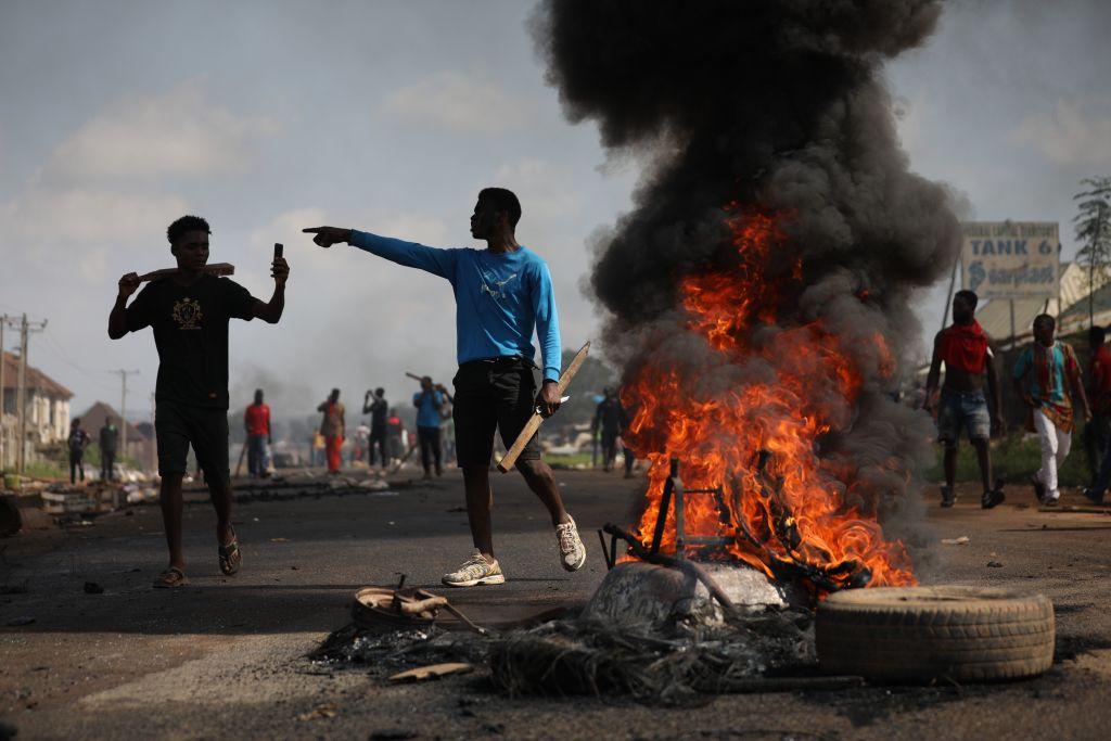 Incidente șocante în Nigeria. Proteste față de violența poliției, reprimate cu focuri de armă