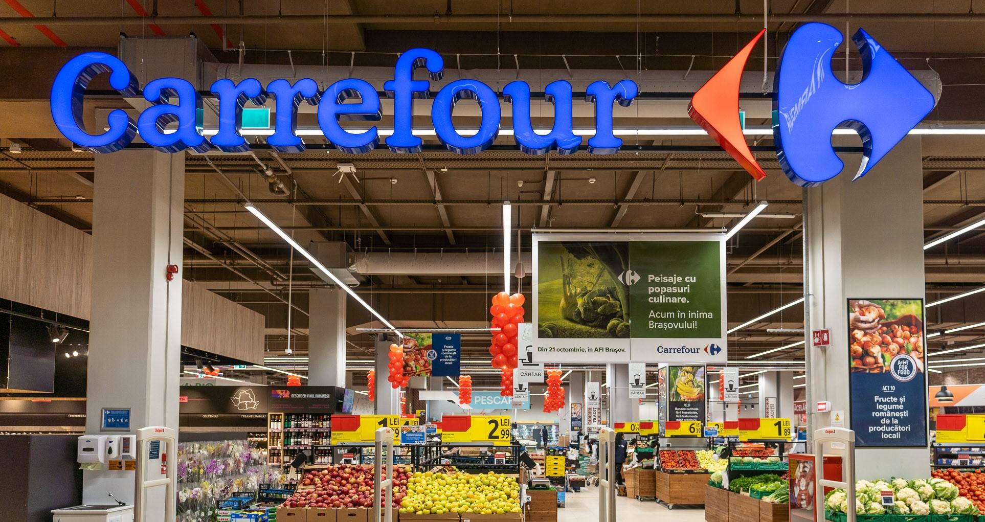 (P) Carrefour deschide al doilea hipermarket din Brașov și al 40-lea din rețeaua națională