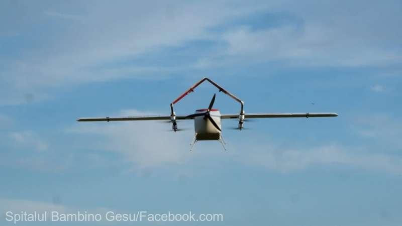 Drone pentru transportul medicamentelor, testate de un spital de copii al Vaticanului