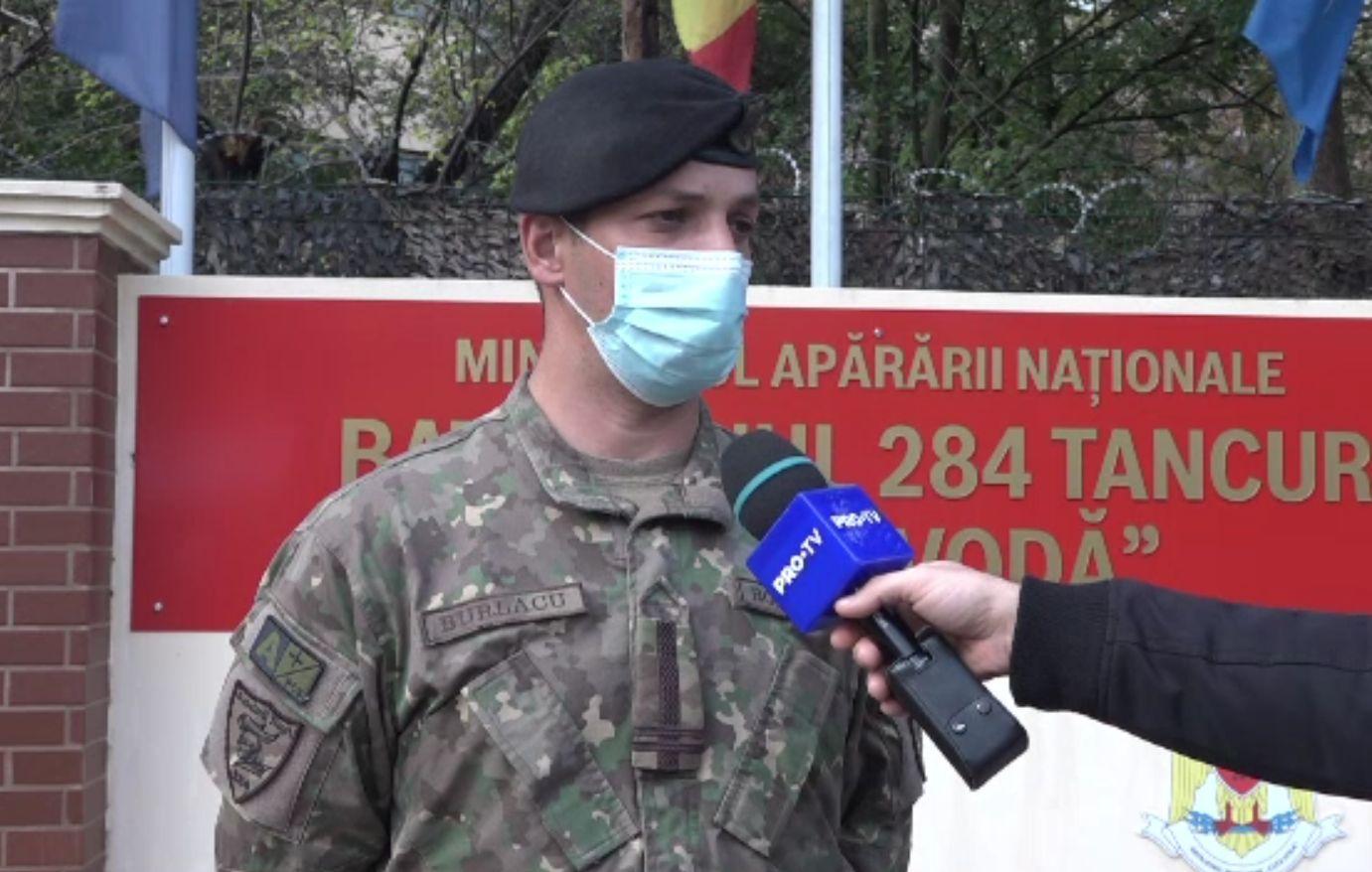 12 militari din Galați, infectați cu coronavirus. Alți 12 din batalion sunt izolați