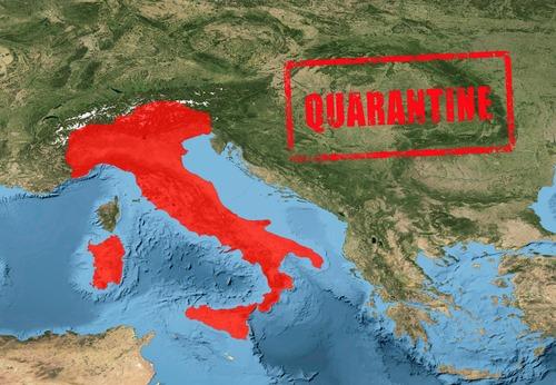 Italia intră din nou în lockdown. Ce măsuri se vor impune, începând de luni