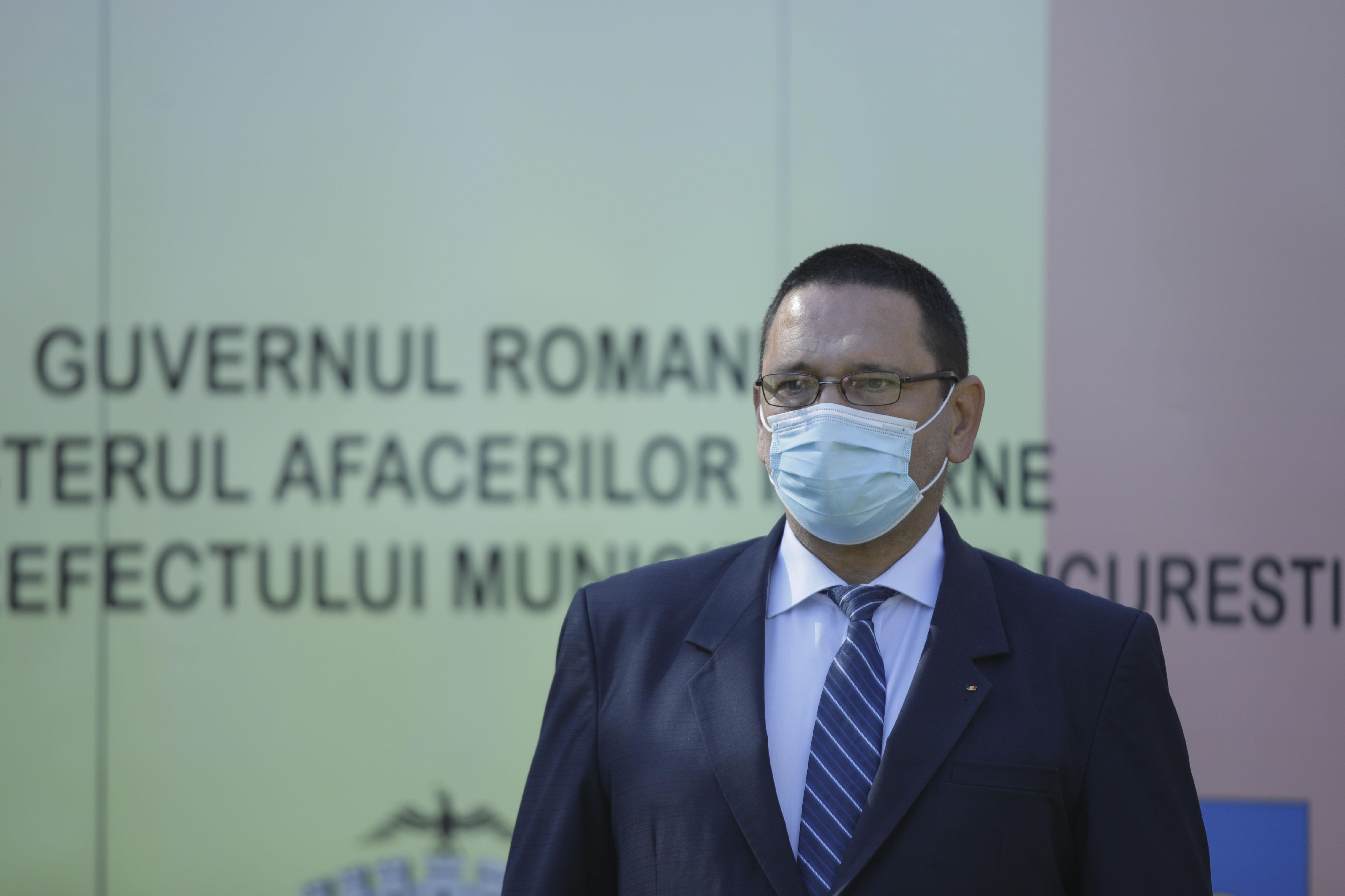 Prefectul Capitalei, infectat cu noul coronavirus.