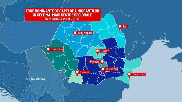 Câți români ar alege să se mute în alt oraș sau în străinătate pentru un trai mai bun