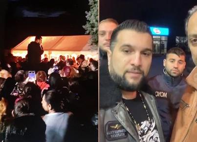 Majorat sărbătorit cu zeci de invitați și cântăreți de manele, oprit de poliție după un Live pe Facebook