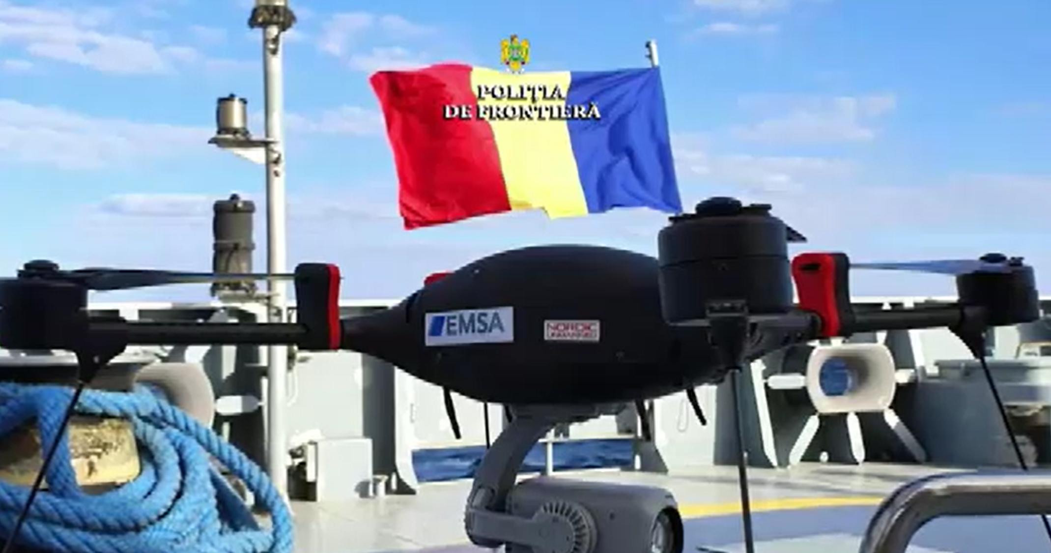 Poliția de Frontieră, dotată cu o dronă în valoare de 100.000 €. De ce echipamente dispune