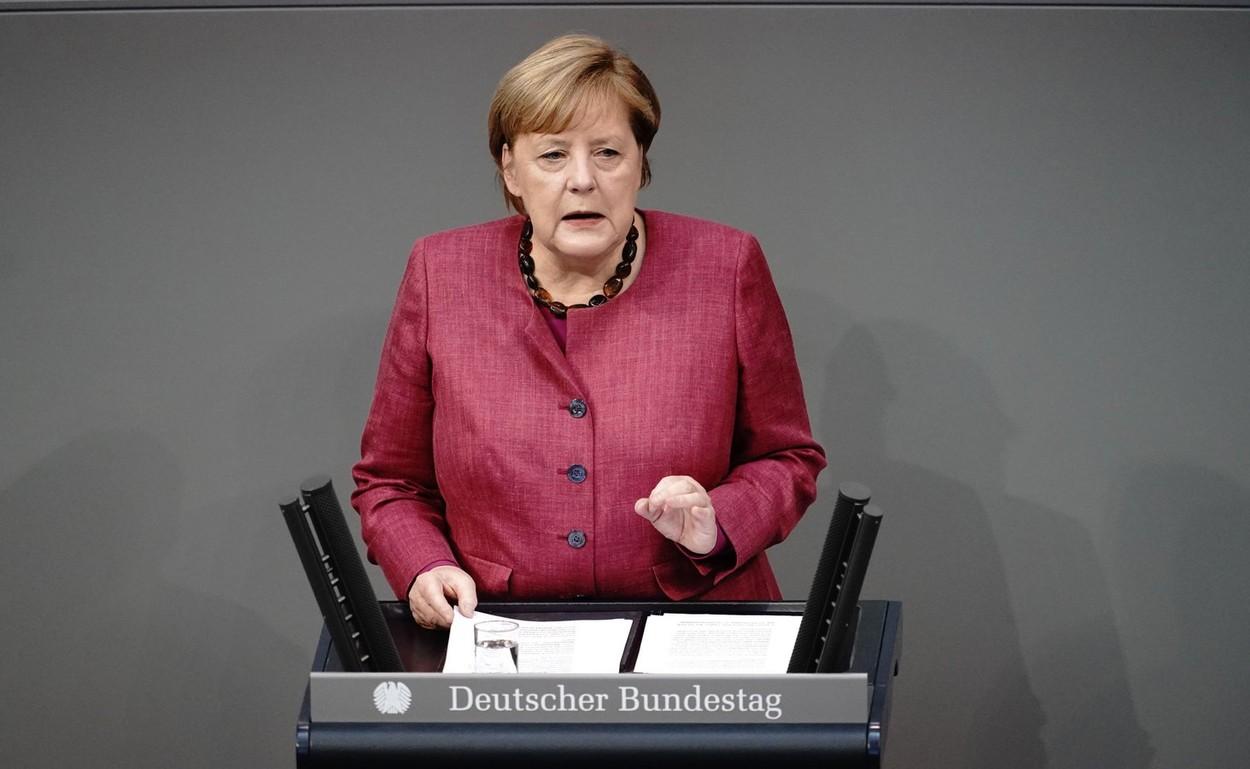 Angela Merkel: Trebuia să acționăm mai devreme, dar oamenii trebuie să vadă paturile pline