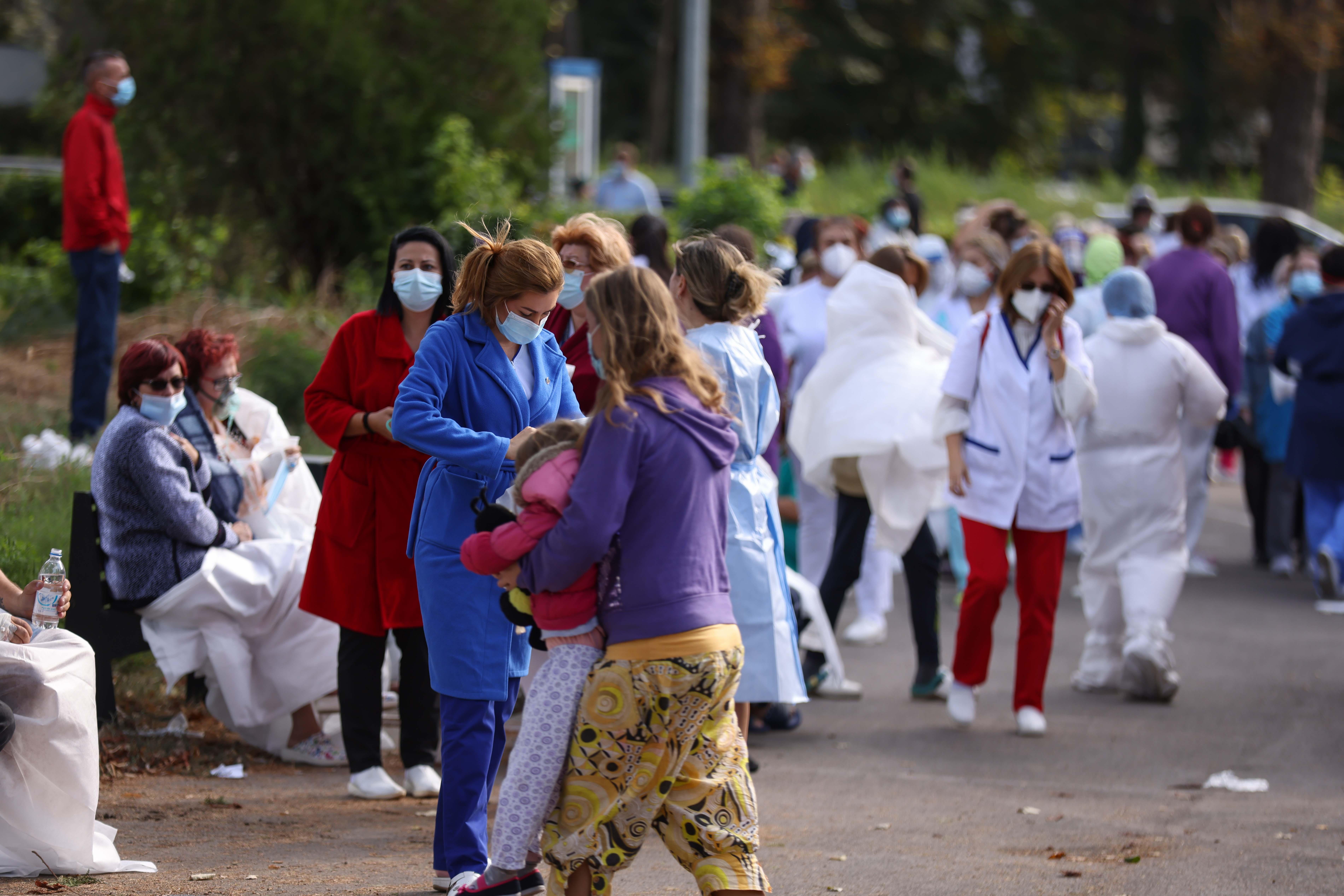 Incendiu la Spitalul de Boli Infecţioase Constanţa. Șapte pacienți au decedat. VIDEO