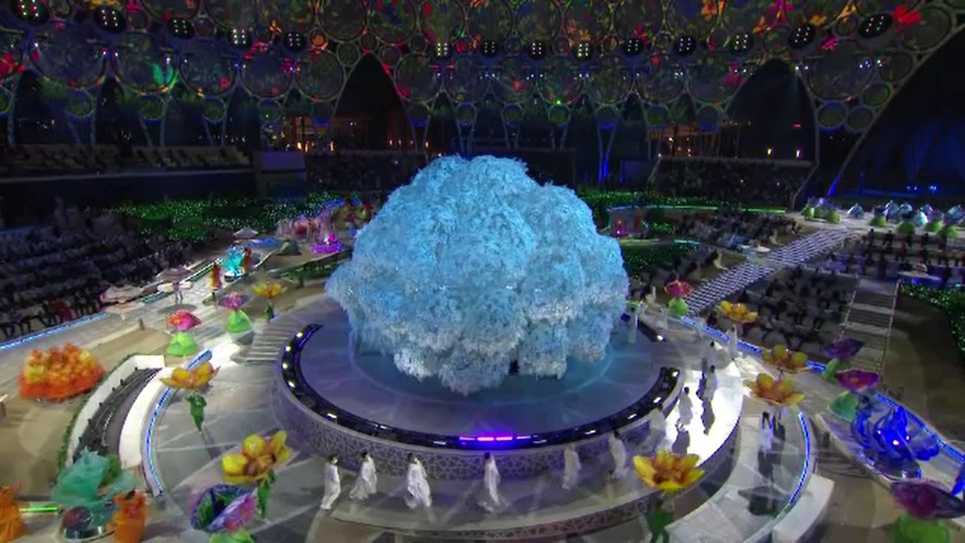 Video. Expo Dubai 2020 a început cu o ceremonie spectaculoasă