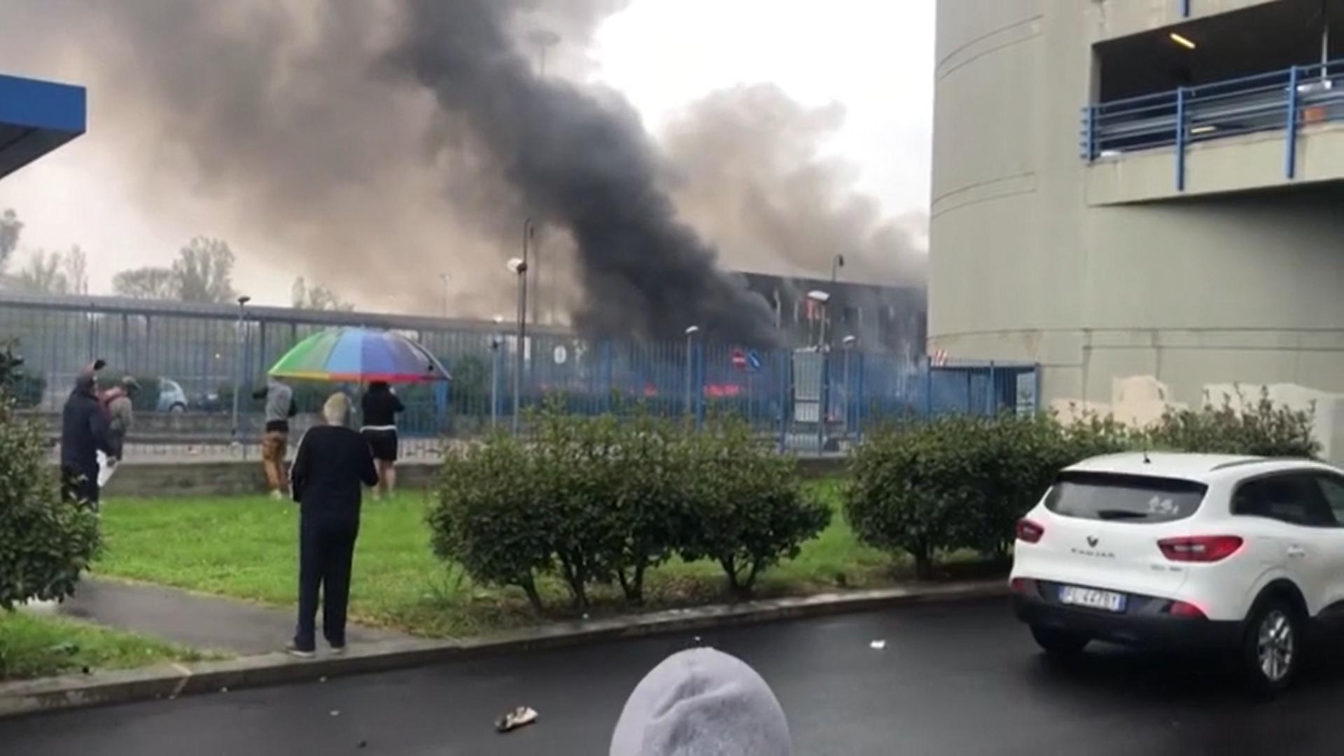 Momentul în care s-a prăbușit avionul lui Dan Petrescu a fost filmat
