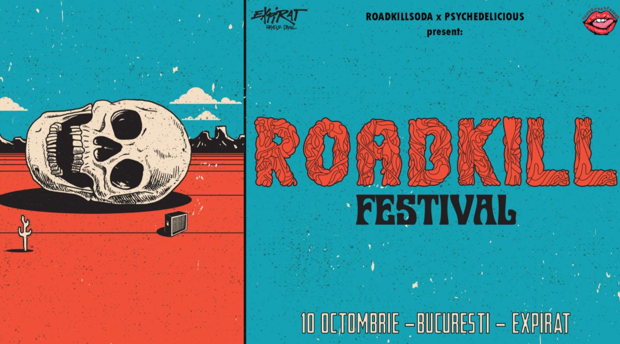 Prima ediție a festivalului de stoner-rock, Roadkill Fest, are loc în 10 octombrie în București