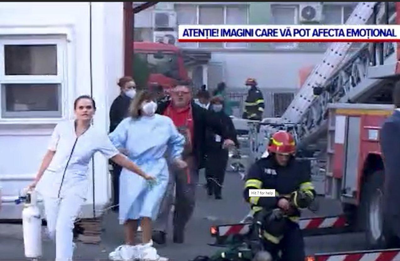 O doctoriță de la Spitalul din Constanța se temea că va izbucni un incendiu încă de la începutul anului