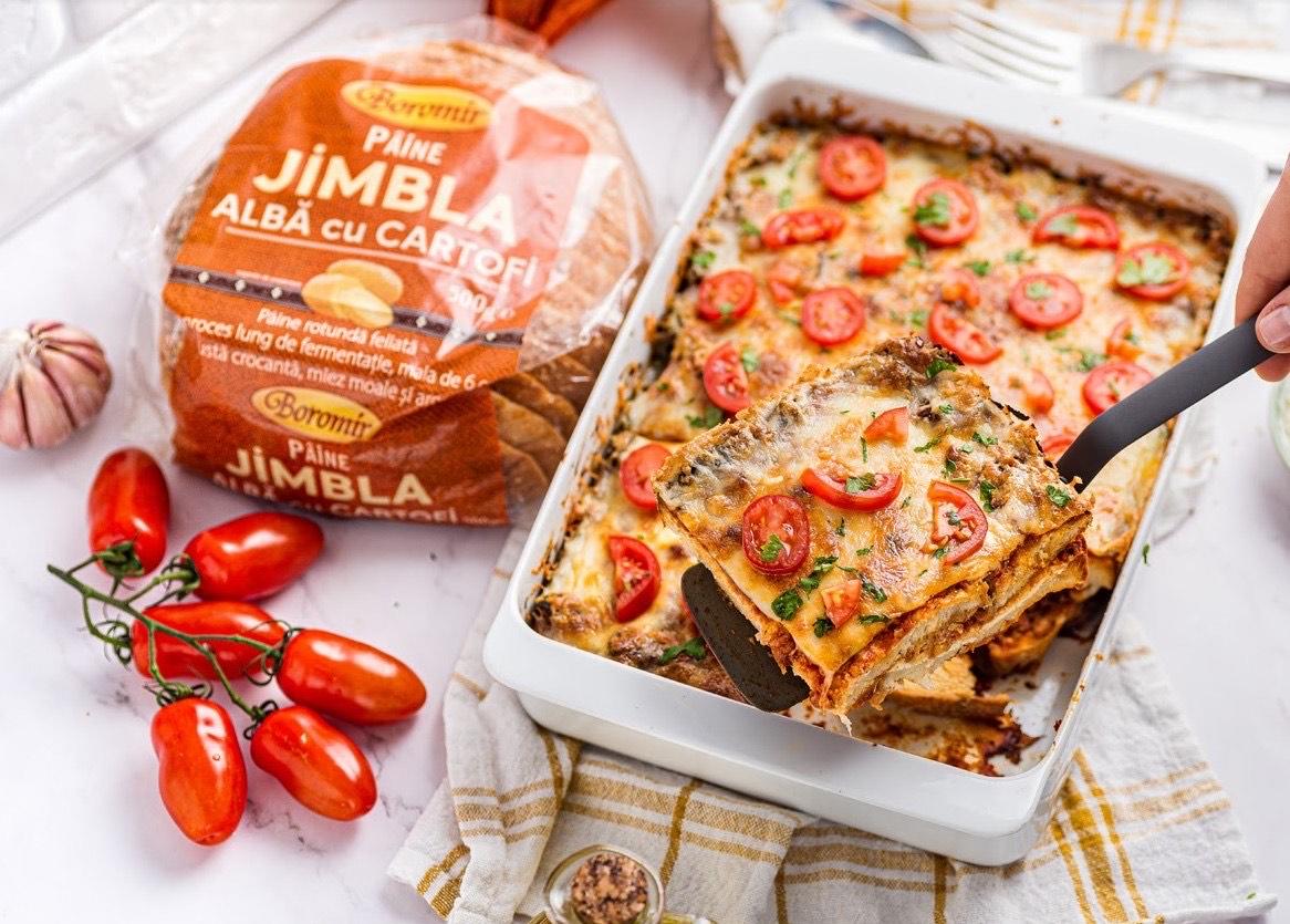 (P) Rețetă reinterpretată de lasagna, faimosul deliciu italian