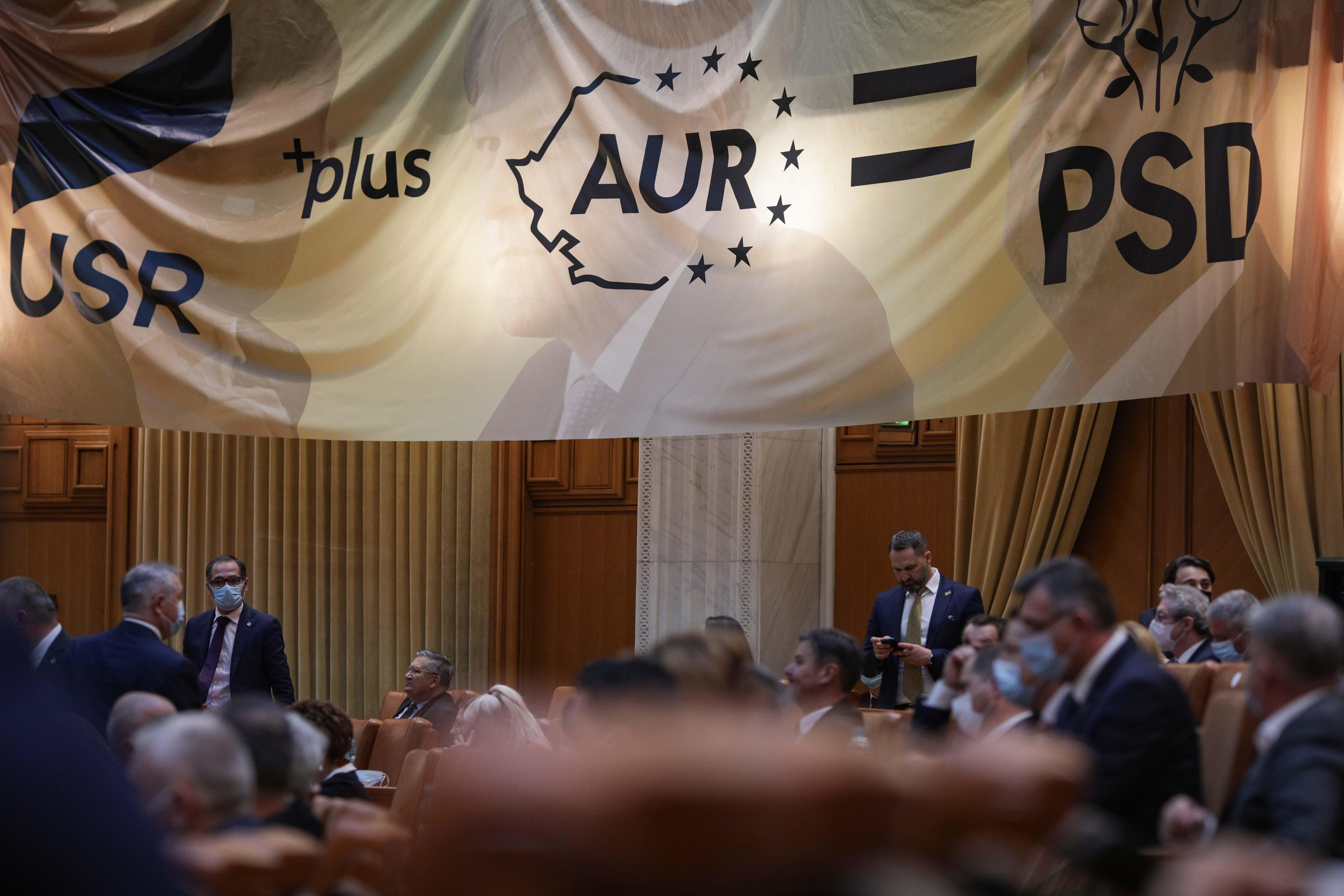 CCR, despre moţiunea iniţiată de USR şi AUR: