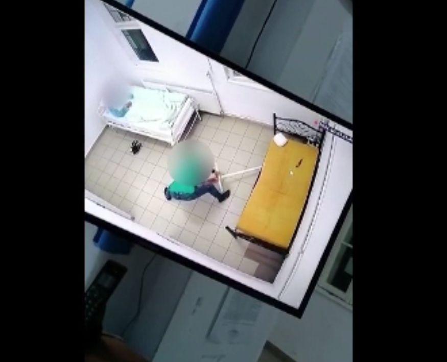 Un șobolan, surprins printre paturile pacienților de la Institutul de Psihiatrie Socola