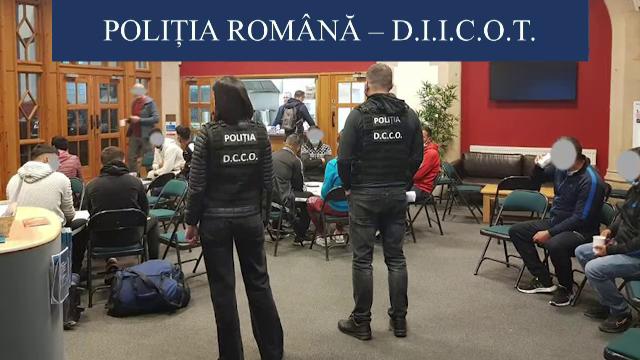 Șapte indivizi, arestați în urma unei anchete comune a autorităților române și britanice. Pentru ce sunt acuzați