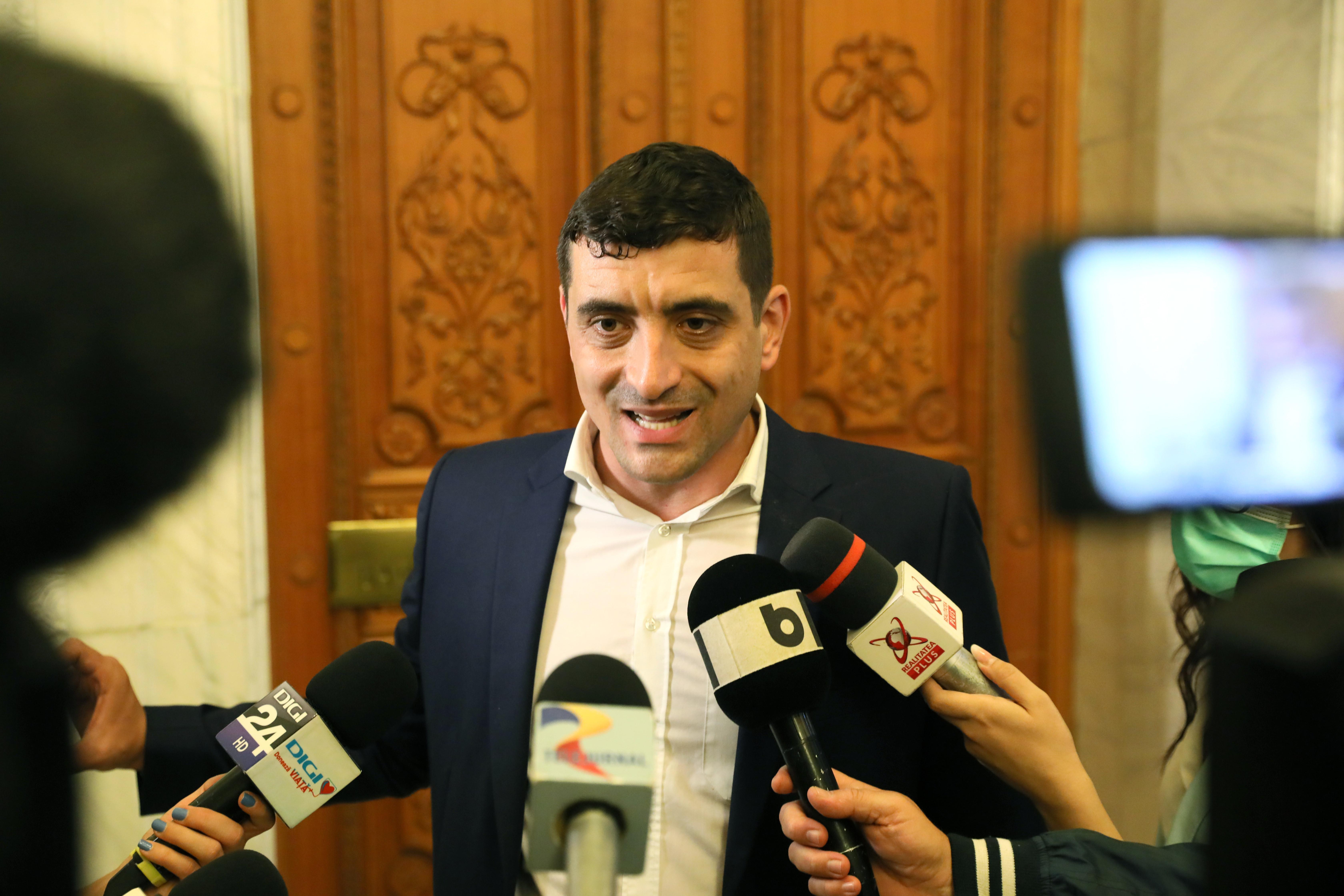 George Simion, uimit de reacția lui Iohannis când i-a spus să îi ceară demisia lui Florin Cîțu