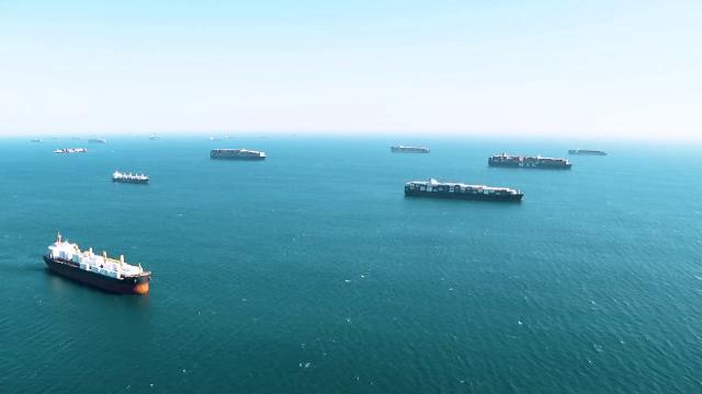 """Criză în porturile din SUA: """"Este fără precedent. Sunt mai multe nave decât locuri de parcare"""""""