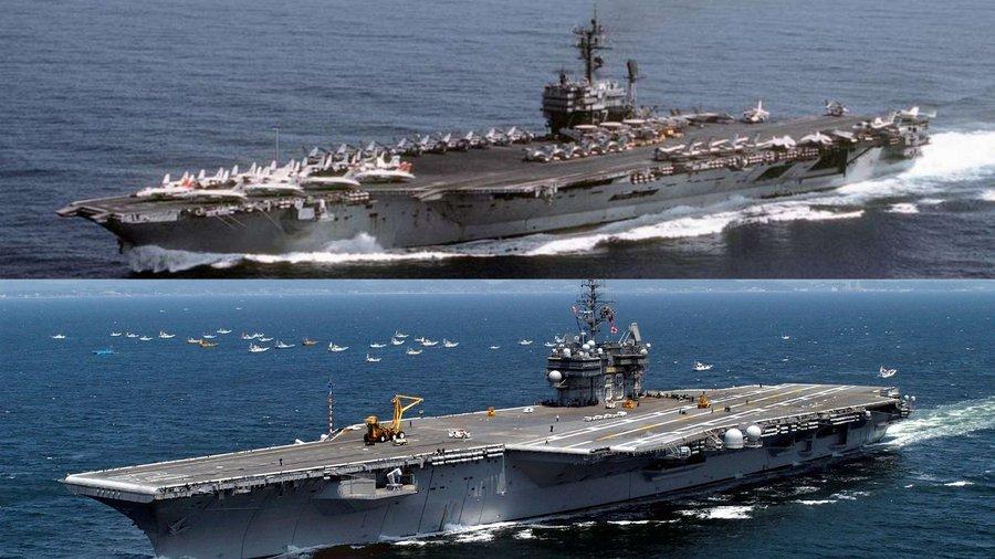 Marina SUA a vândut două portavioane vechi cu câte un cent fiecare unei companii din Texas