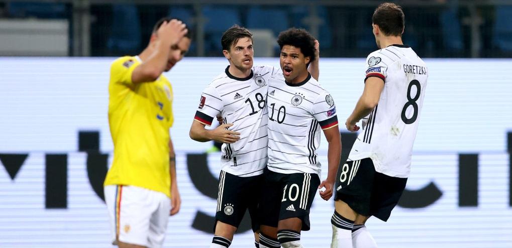 Germania - România 2-1, în preliminariile CM 2022. Cum arată clasamentul în Grupa J