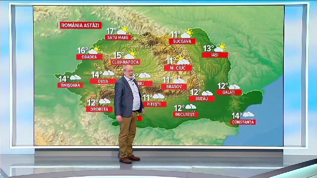 Frig și ploaie în toată țara. Unde vor cădea cantități însemnate de apă