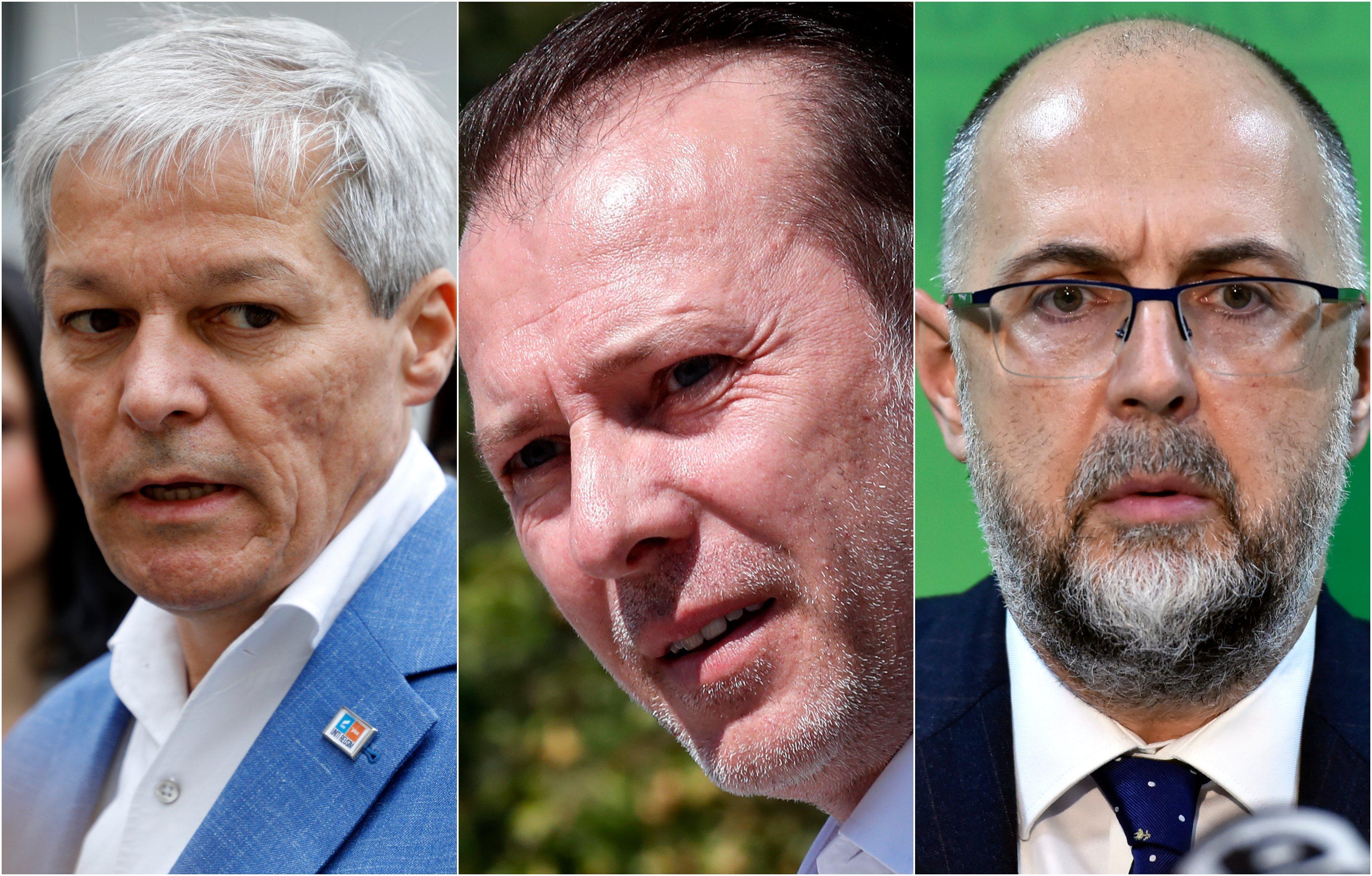 """Negocierile USR-PNL-UDMR au eșuat. Florin Cîțu: """"Cei care au declanşat criza să vină cu o soluție"""""""
