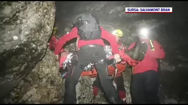 Un vânător ceh, aflat în zonă cu vânătoarea interzisă, s-a prăbușit 40 de metri în gol, în Bucegi
