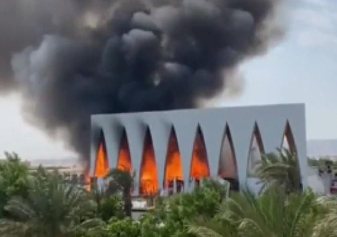 Incendiu la Festivalul de Film din El Gouna. Mai multe persoane au ajuns la spital