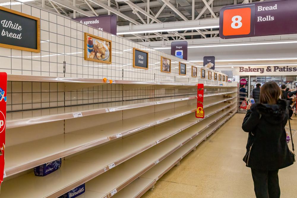 """Epoca alimentelor ieftine din UK s-a încheiat. Producător: """"Rafturi goale şi inflaţie salarială, asta nu se va schimba"""""""