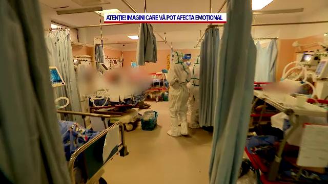 Cea mai neagră zi a pandemiei de coronavirus în România. Bolnavii zac pe holuri, iar morgile spitalelor sunt pline