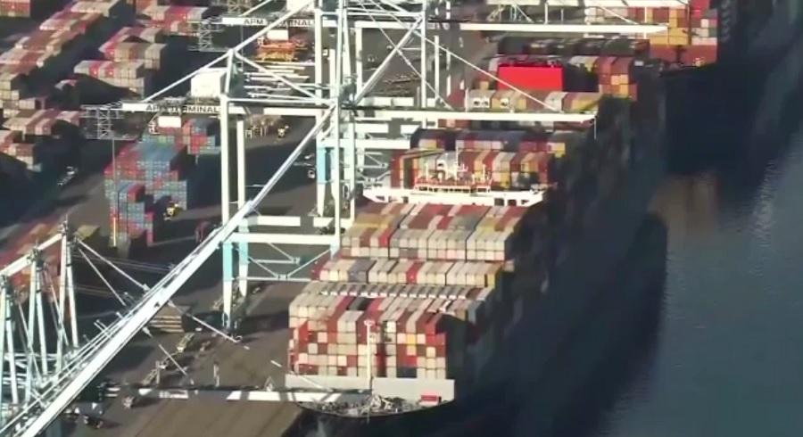 Marile porturi din California au redevenit operaționale, însă în zonă a apărut o nouă problemă
